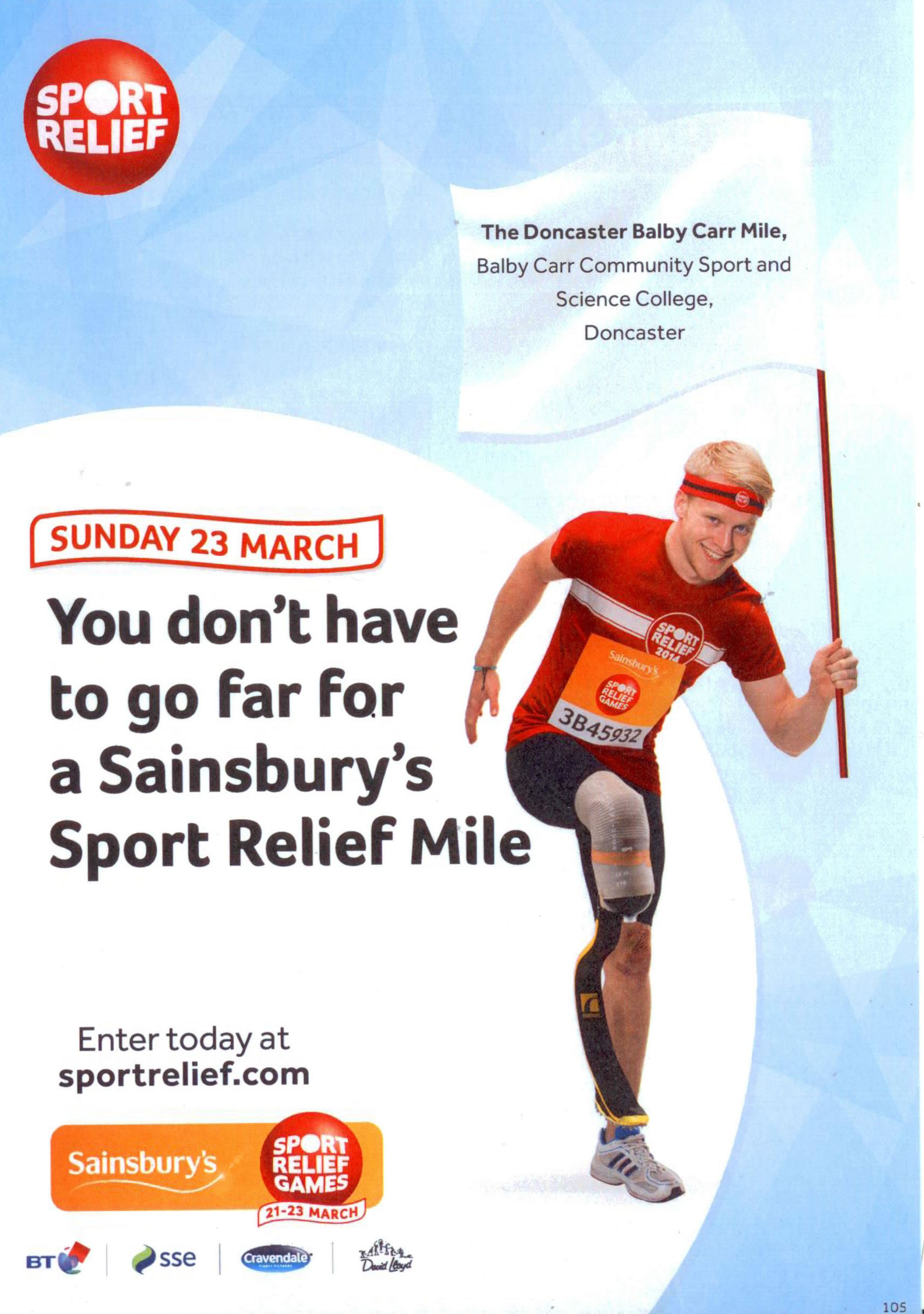 Balby Carr Sport Relief