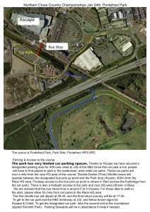 Pontefract Venue Map